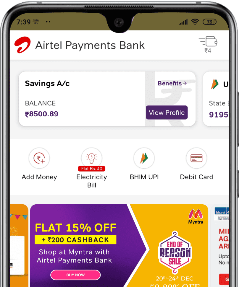 Airtel Payments Bank Video KYC