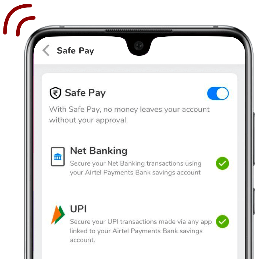 Enable Airtel Safe Pay
